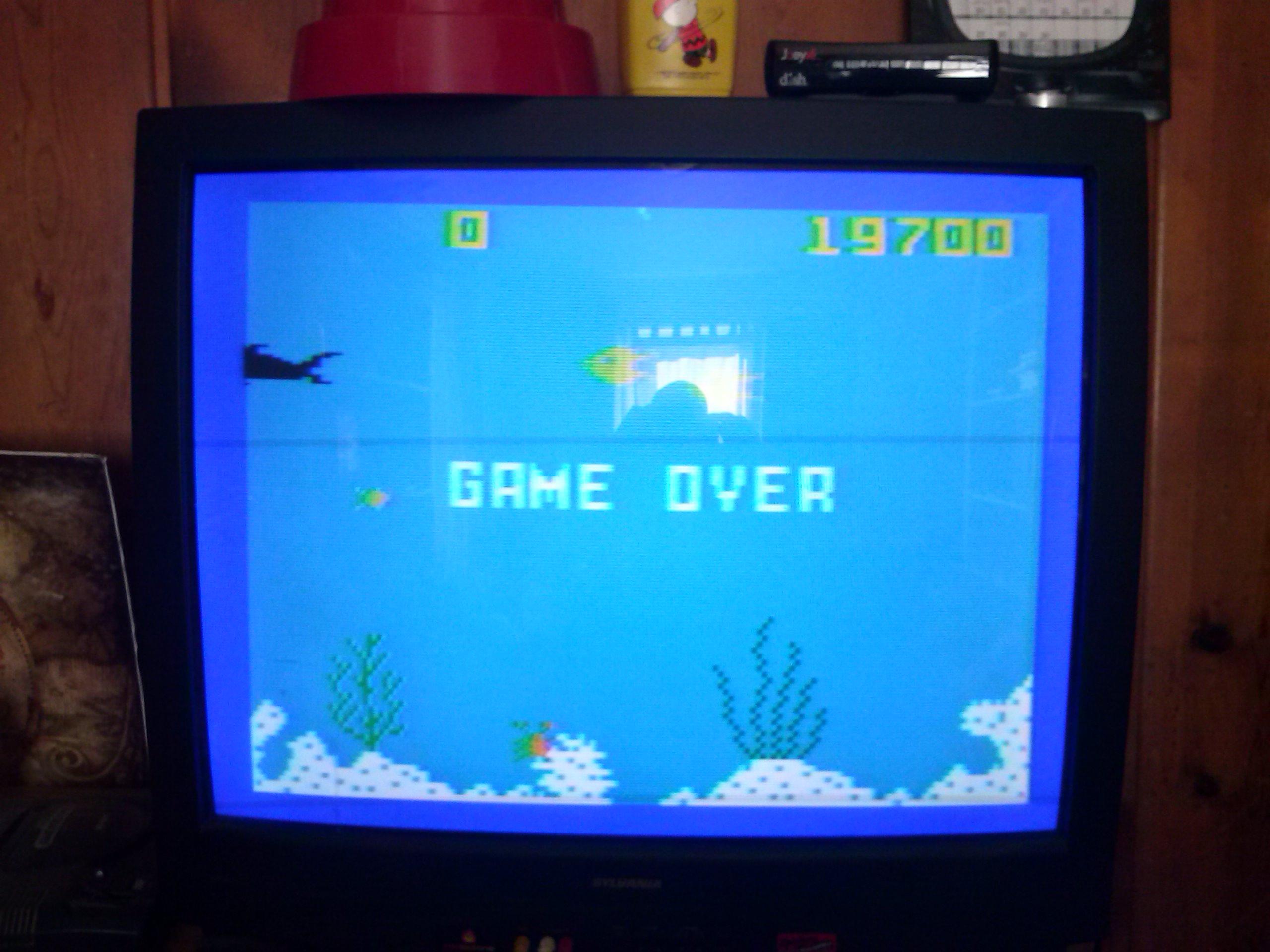 nester: Shark! Shark!: Normal Mode (Intellivision) 19,700 points on 2014-04-26 10:00:09