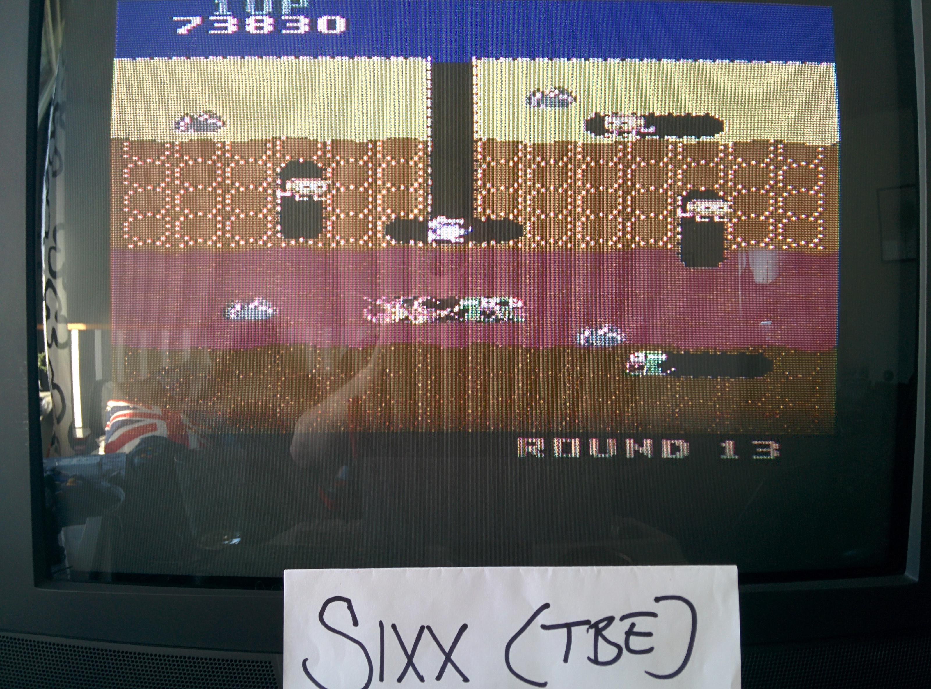 Sixx: Dig Dug (Commodore 64) 73,830 points on 2014-04-27 03:08:55