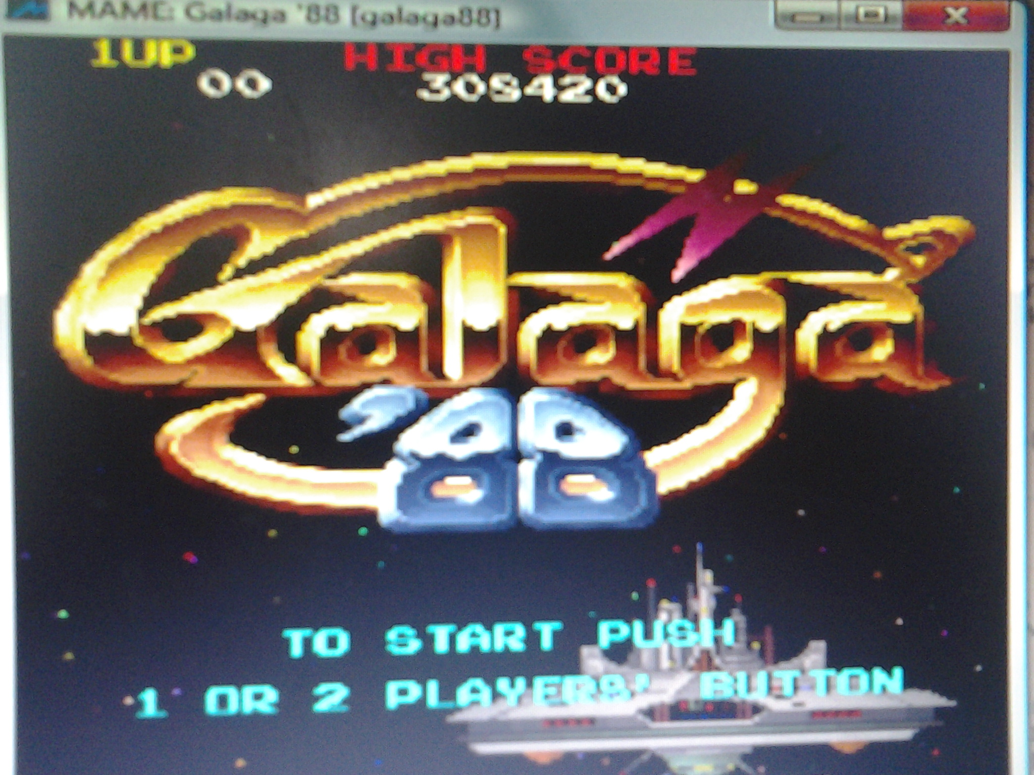 Galaga 88 308,420 points