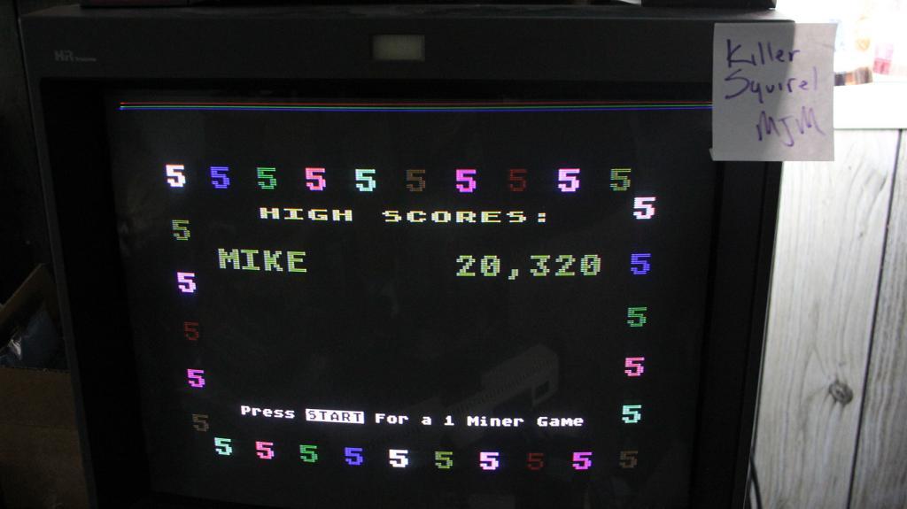 Miner 2049er 20,320 points