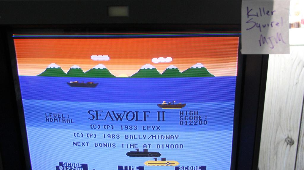 Seawolf II 12,200 points
