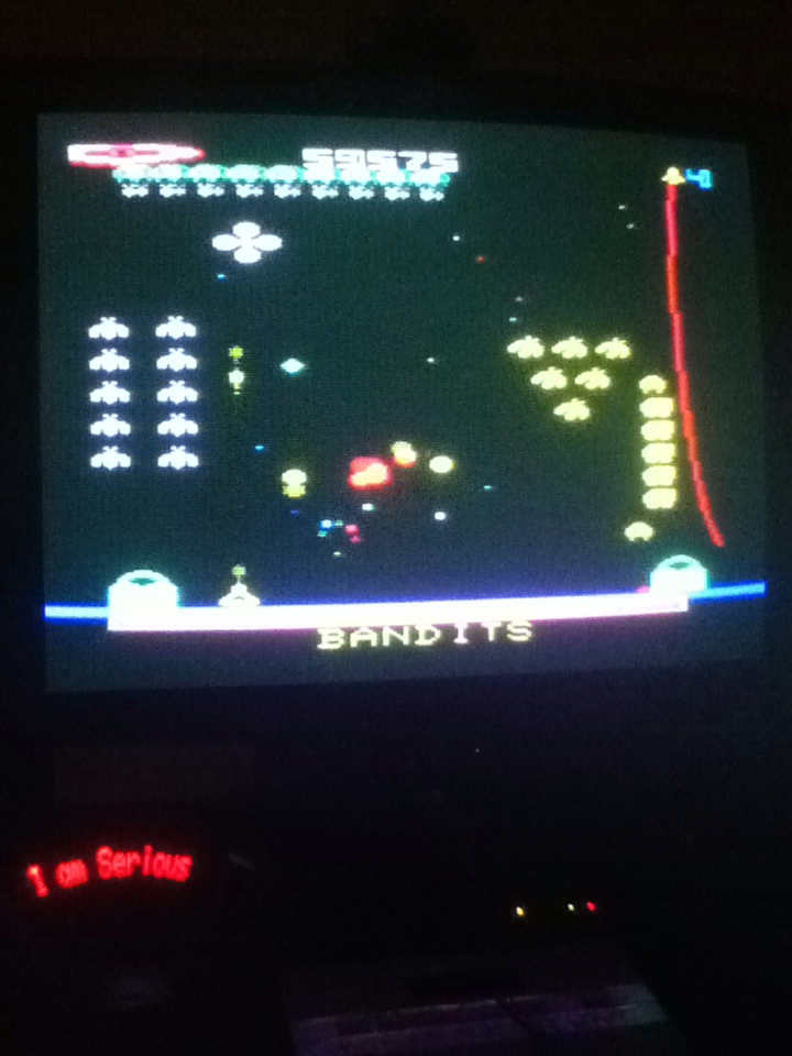 Serious: Bandits (Commodore VIC-20) 59,575 points on 2013-08-30 15:16:30