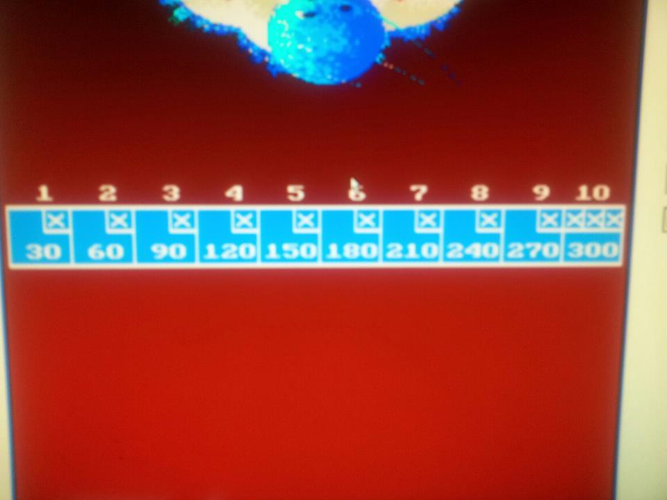 Coors Light Bowling / Capcom Bowling 300 points