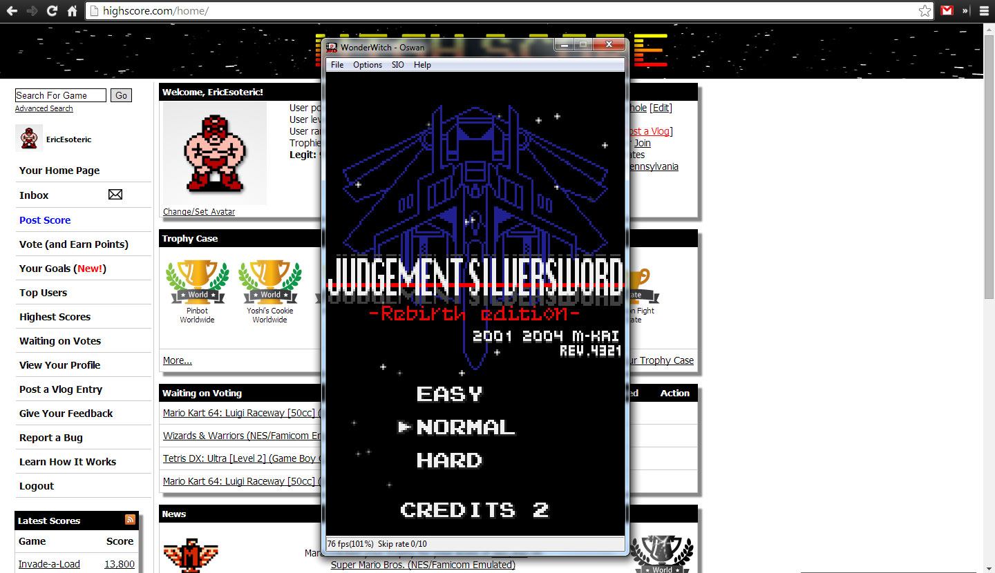 Judgement Silversword: Rebirth Edition 1,369,130 points