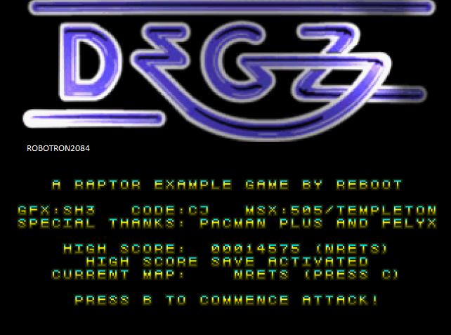 Robotron2084: Degz (Atari Jaguar Emulated) 14,575 points on 2014-04-28 20:43:42