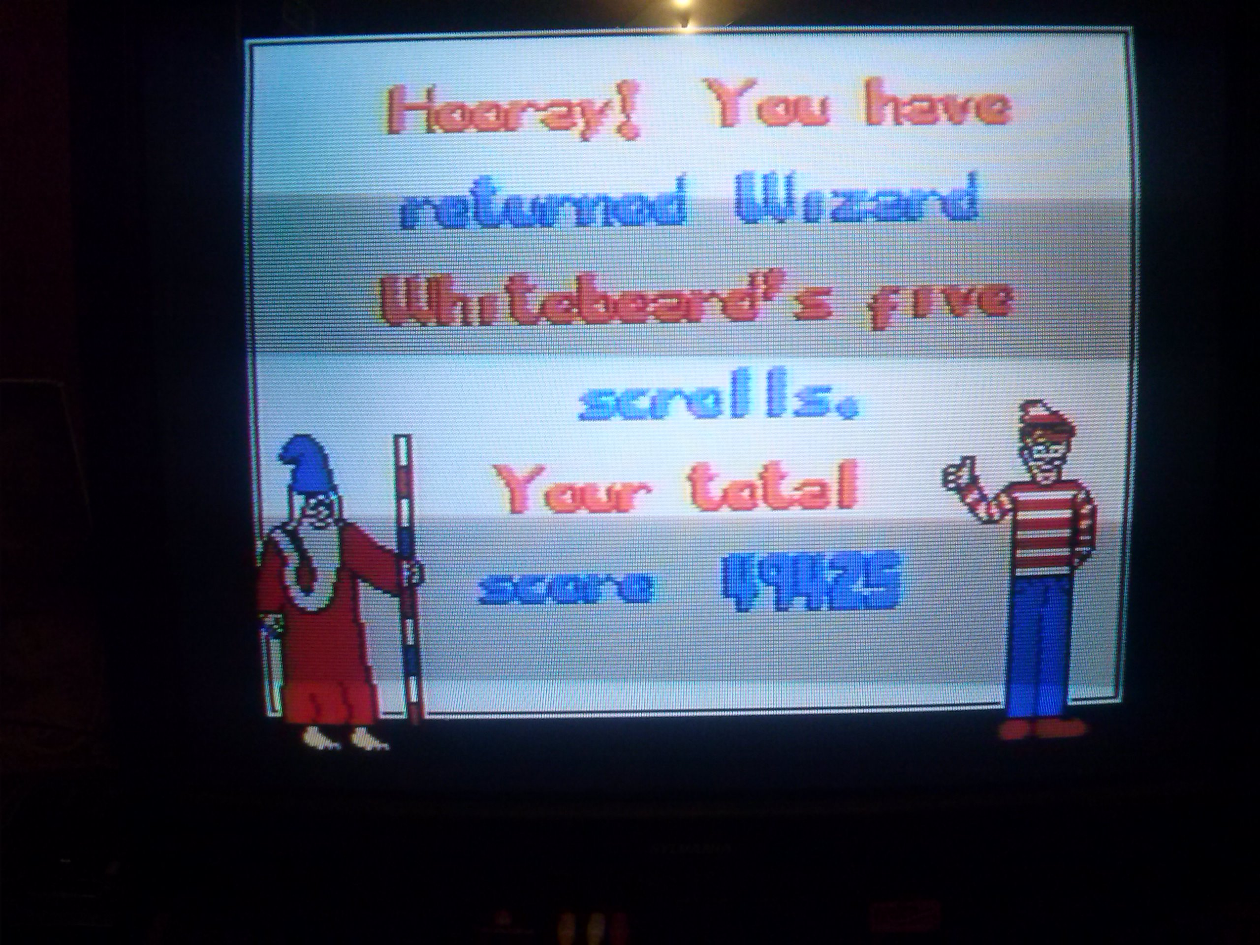 nester: The Great Waldo Search: Normal (NES/Famicom) 49,425 points on 2014-04-28 21:40:04