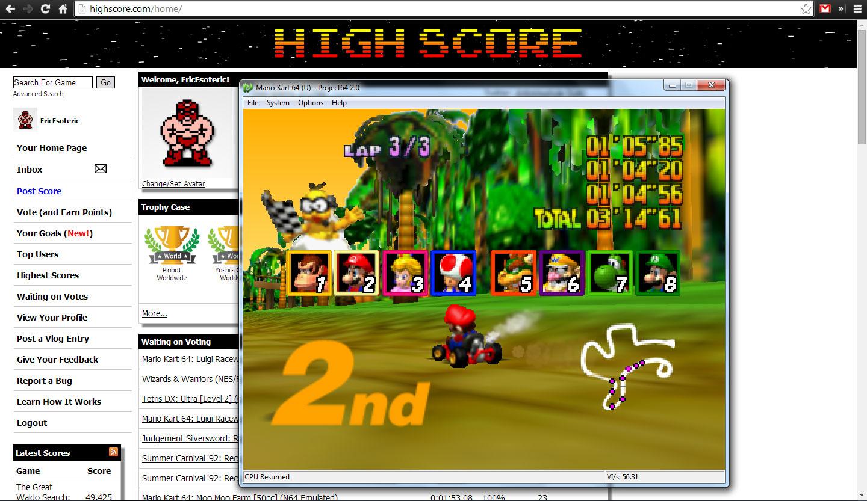 Mario Kart 64: DK