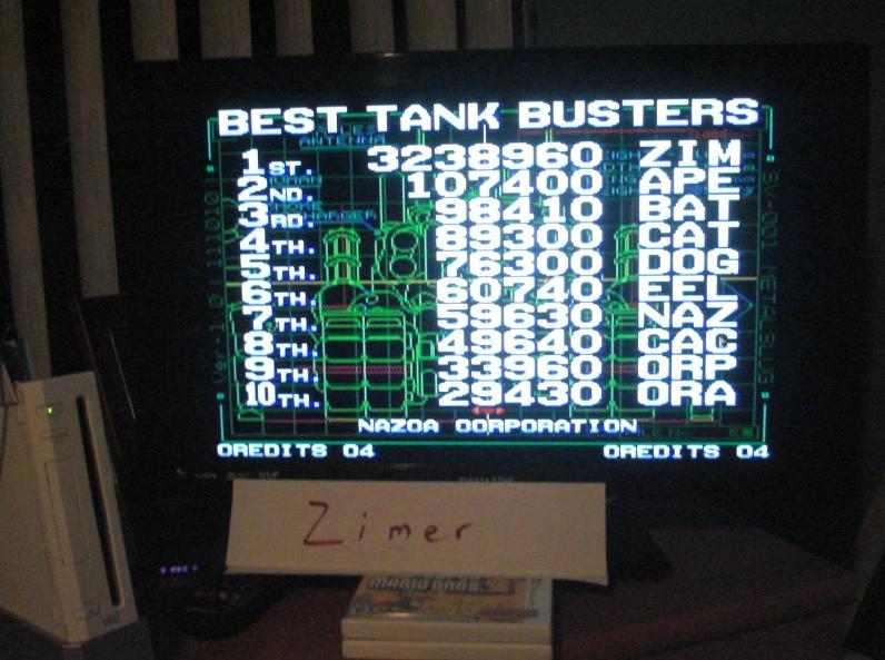 Zimer: Metal Slug (Wii Virtual Console: Neo Geo) 3,238,960 points on 2014-04-28 23:30:09