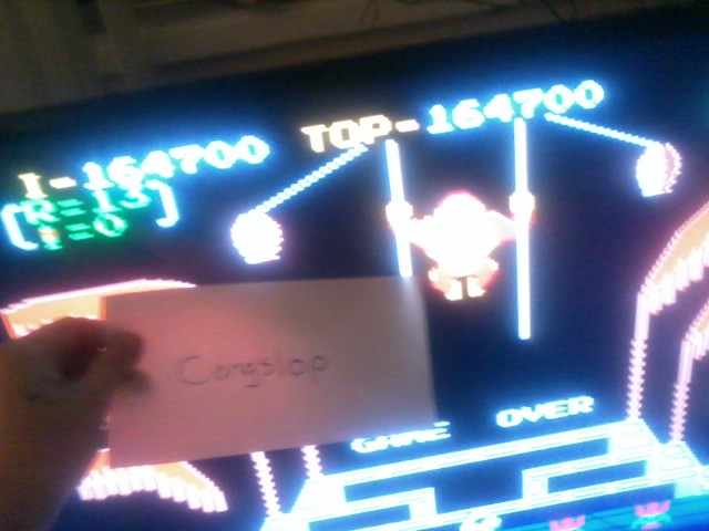 Donkey Kong 3: Game A 164,700 points
