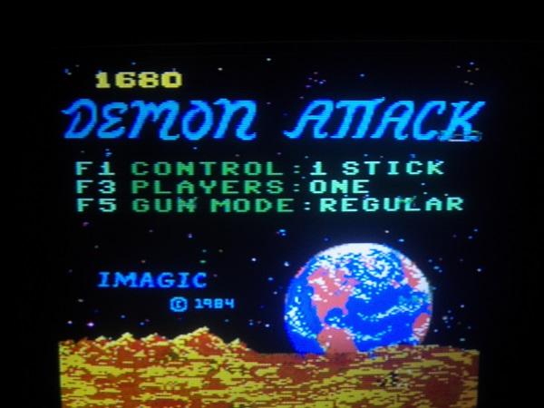 Demon Attack 1,680 points