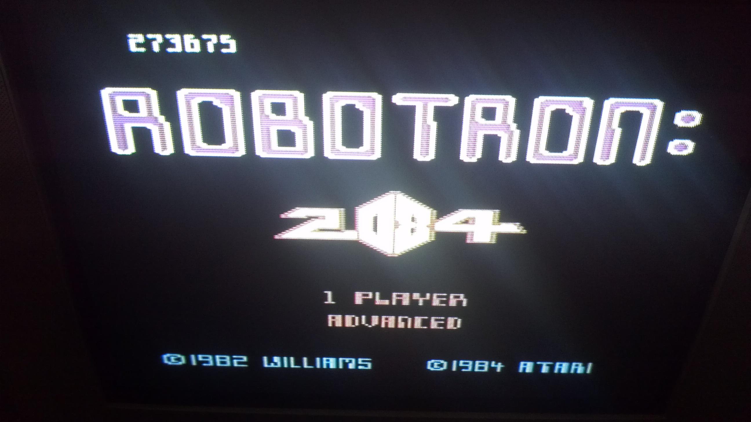 Liduario: Robotron 2084: Advanced (Atari 7800) 273,675 points on 2014-05-01 14:09:35