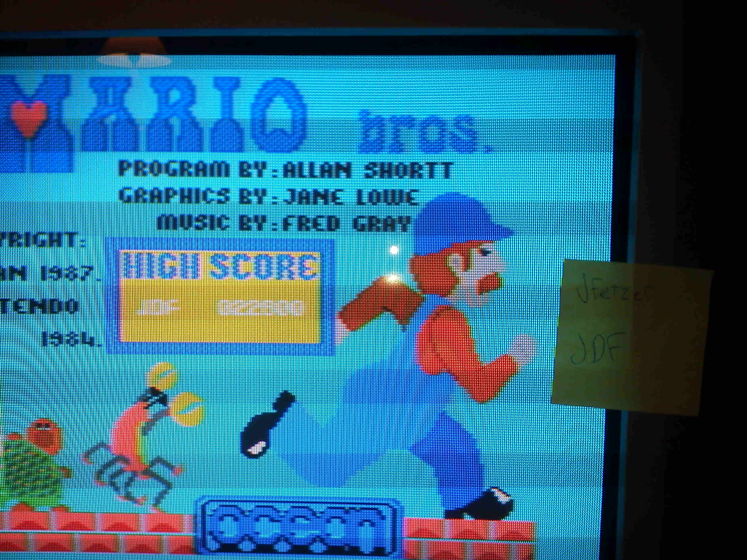 jfetzer: Mario Bros [Ocean] (Commodore 64) 22,800 points on 2014-05-01 18:10:02
