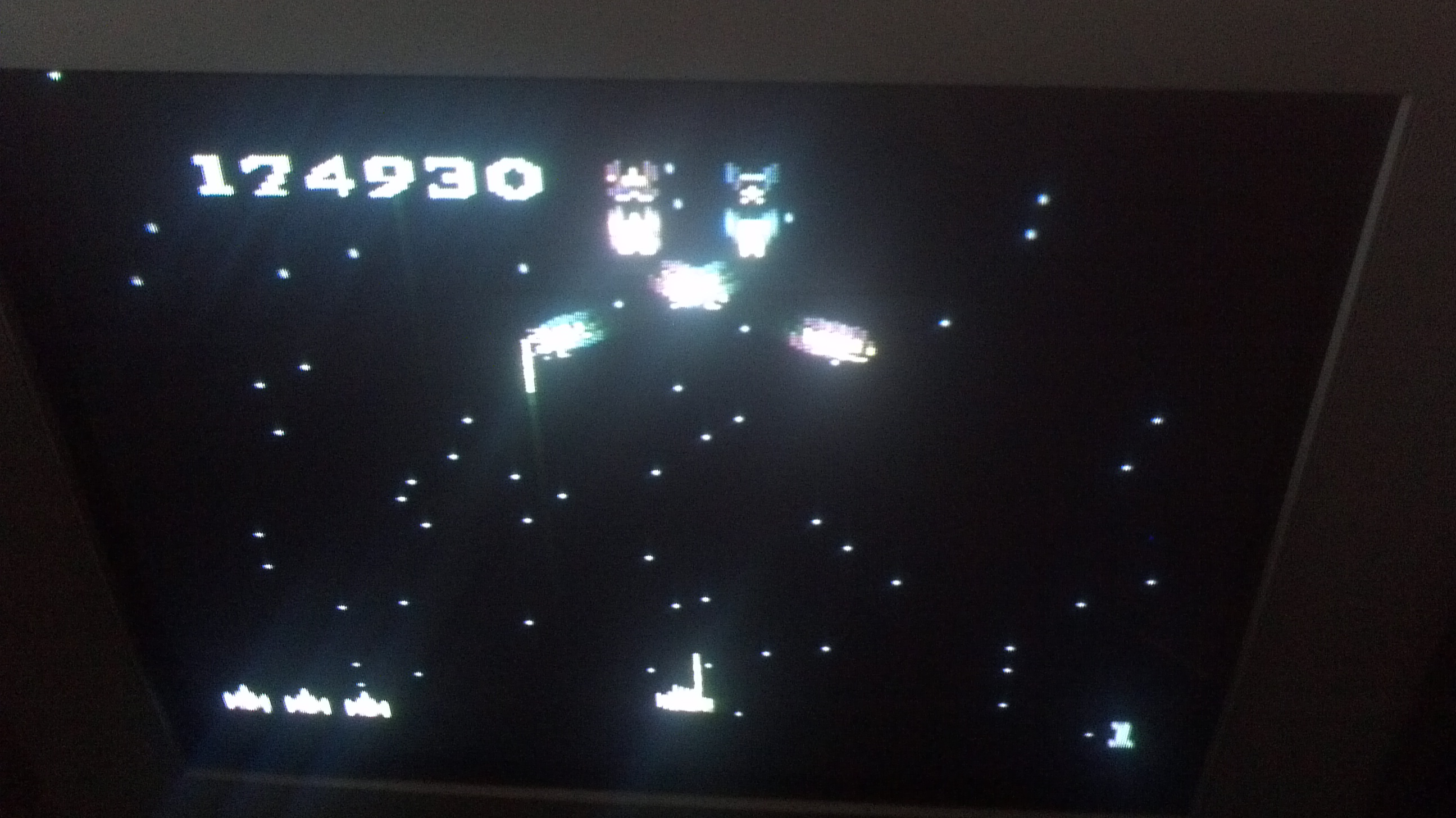 Liduario: Galaga: Advanced (Atari 7800) 174,930 points on 2014-05-02 08:35:56
