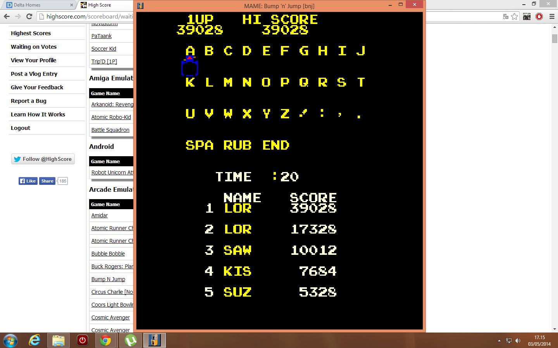 Bump N Jump 39,028 points