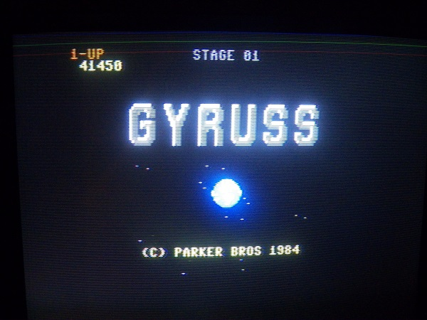 Gyruss 41,450 points