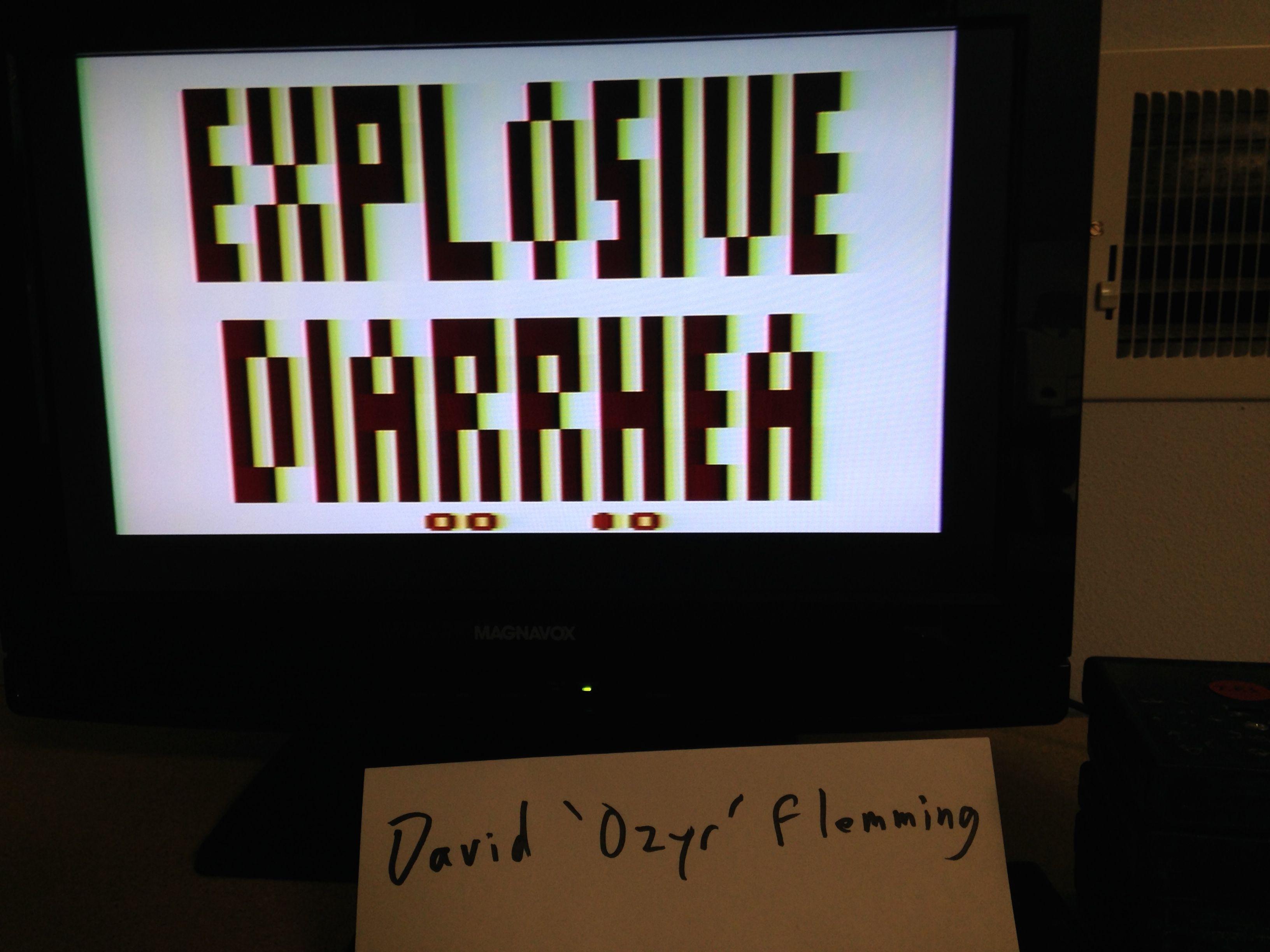 Explosive Diarrhea 10 points