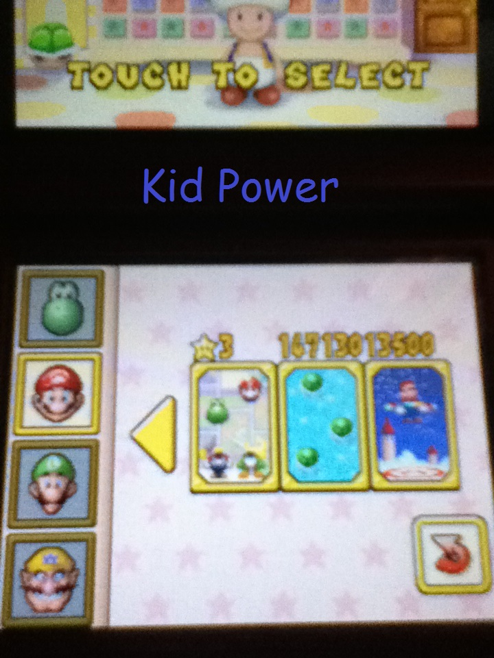 KidPower9: Super Mario 64 DS: Shell Smash (Nintendo DS) 147,130 points on 2014-05-03 22:19:57