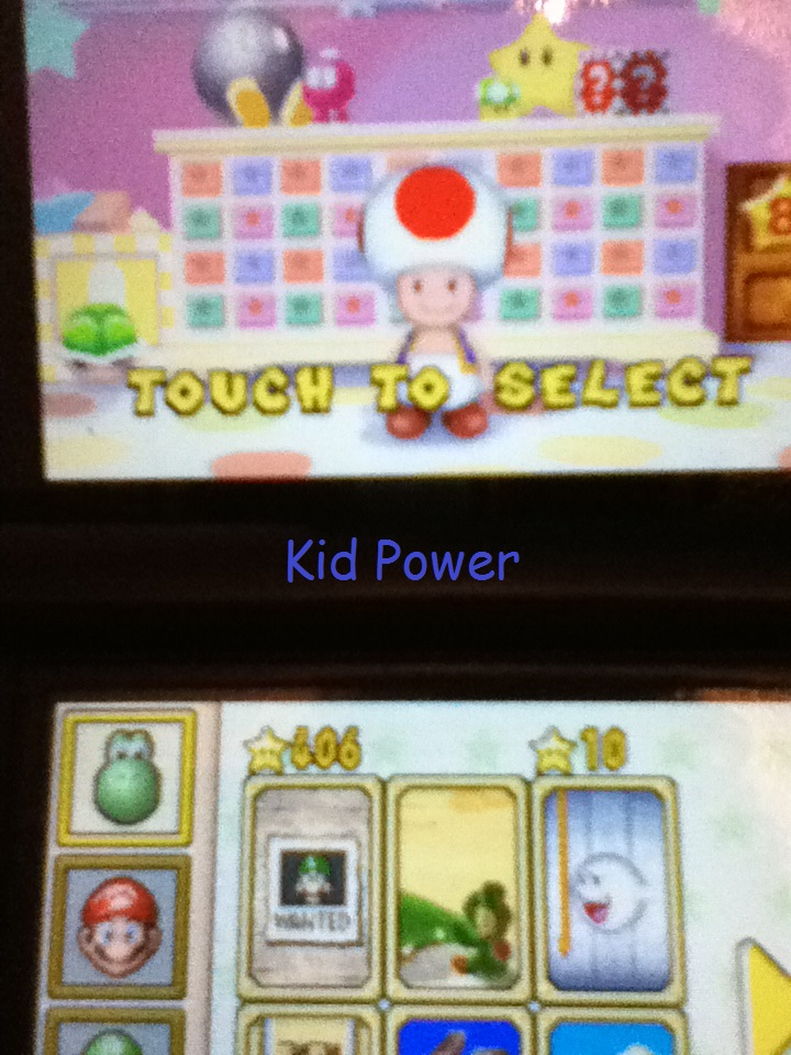 KidPower9: Super Mario 64 DS: Wanted! (Nintendo DS) 406 points on 2014-05-03 22:24:11