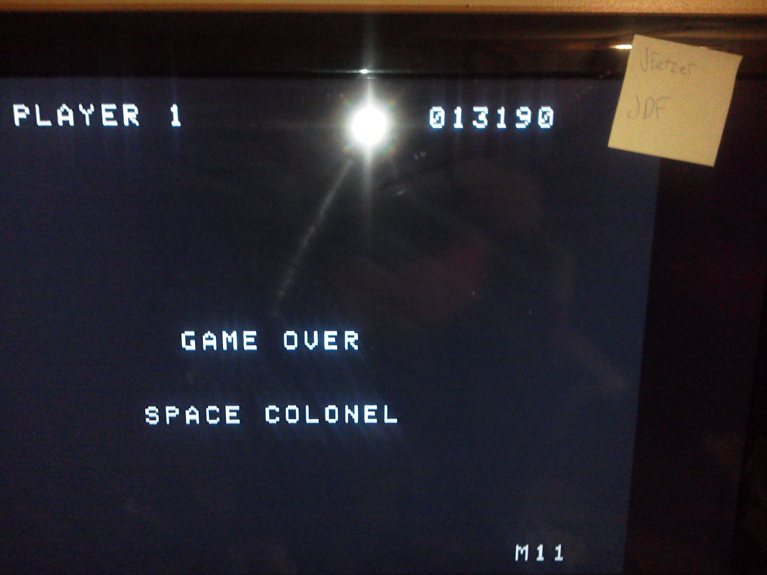 jfetzer: Gorf (Colecovision Emulated) 13,190 points on 2014-05-03 23:34:50