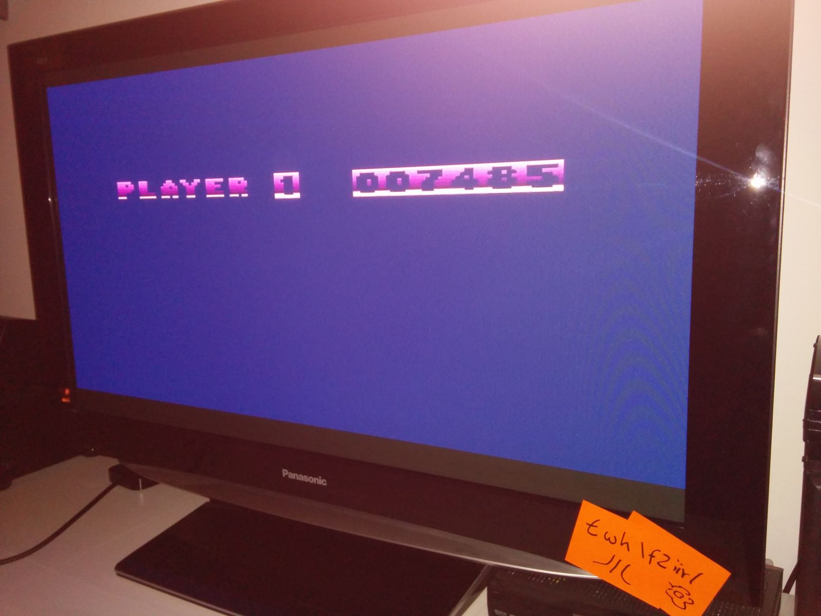 twhf2: Flip and Flop (Atari 400/800/XL/XE) 7,485 points on 2014-05-05 16:38:30