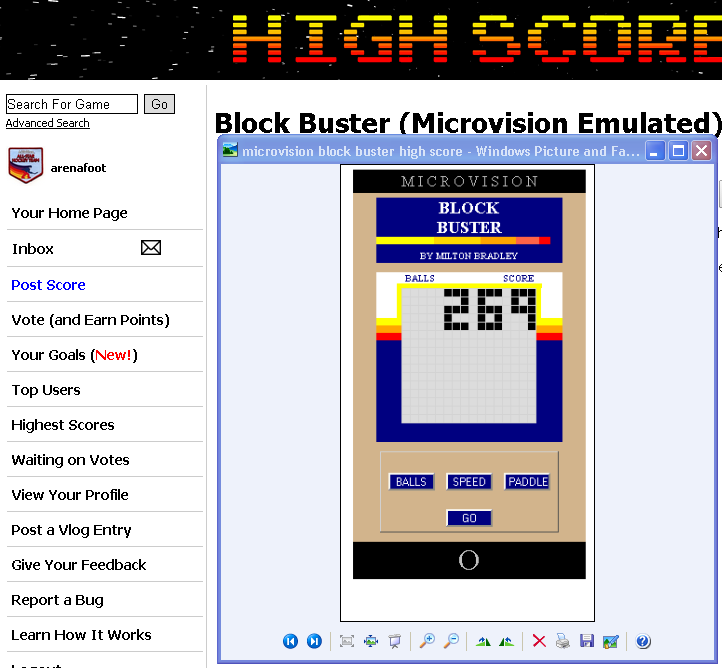 arenafoot: Block Buster (Microvision Emulated) 269 points on 2014-05-06 02:05:18