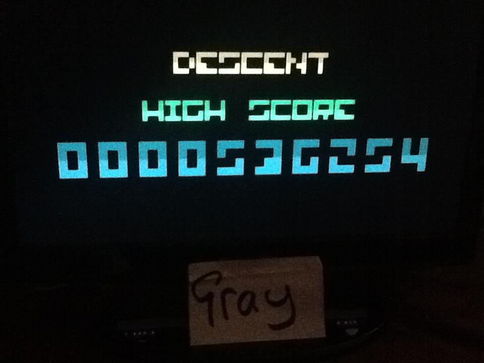 Bit.Trip Beat: Descent 536,254 points