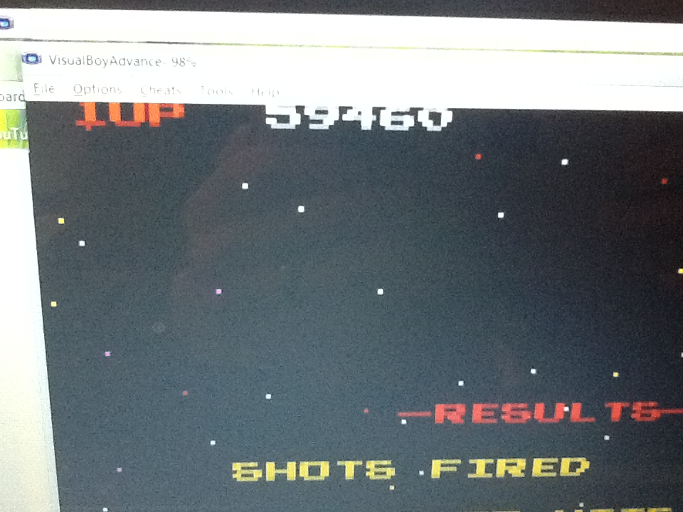 Gray: Namco Museum: Galaga (GBA Emulated) 59,460 points on 2014-05-07 06:55:27