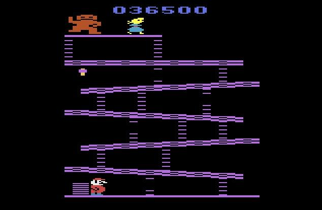 Donkey Kong 36,500 points