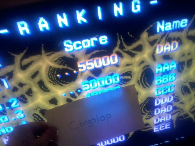 Aliens [aliens] 55,000 points
