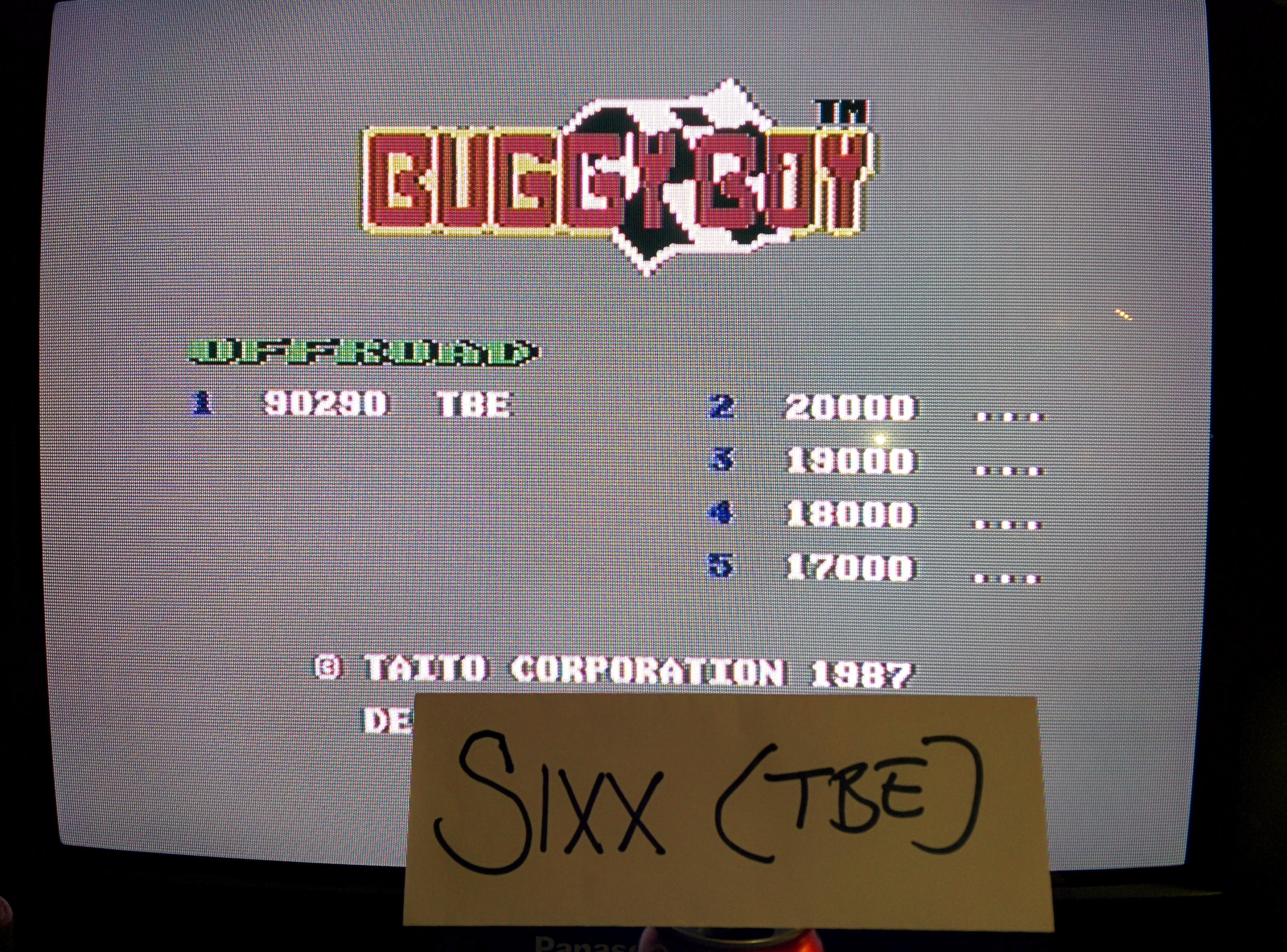Sixx: Buggy Boy: Offroad (Commodore 64) 90,290 points on 2014-05-08 16:15:27