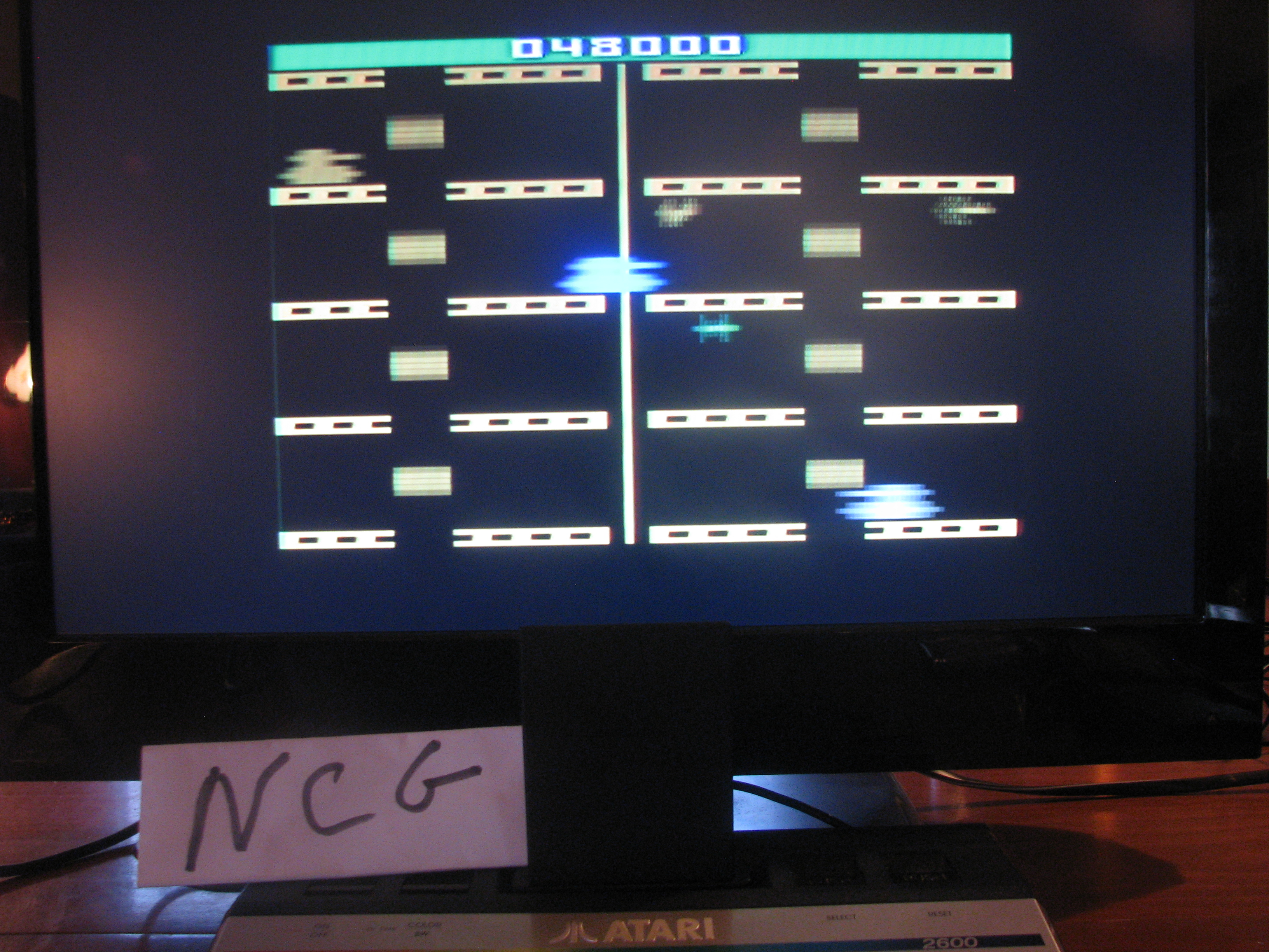 NorthCoastGamer: Adventures of Tron (Atari 2600 Expert/A) 48,000 points on 2014-05-09 00:05:09