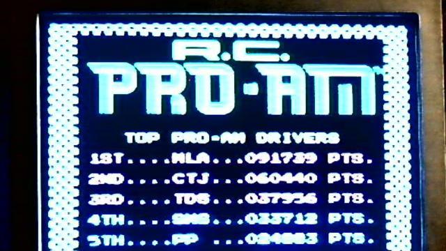 R.C. Pro-Am 91,739 points