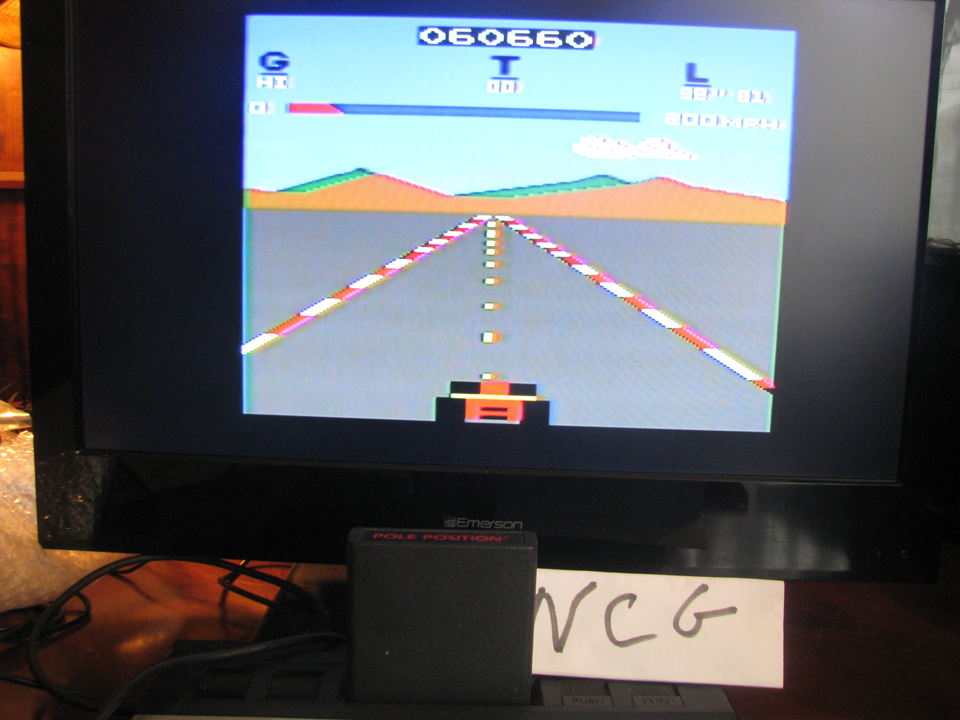 NorthCoastGamer: Pole Position (Atari 2600) 60,660 points on 2014-05-09 00:57:48