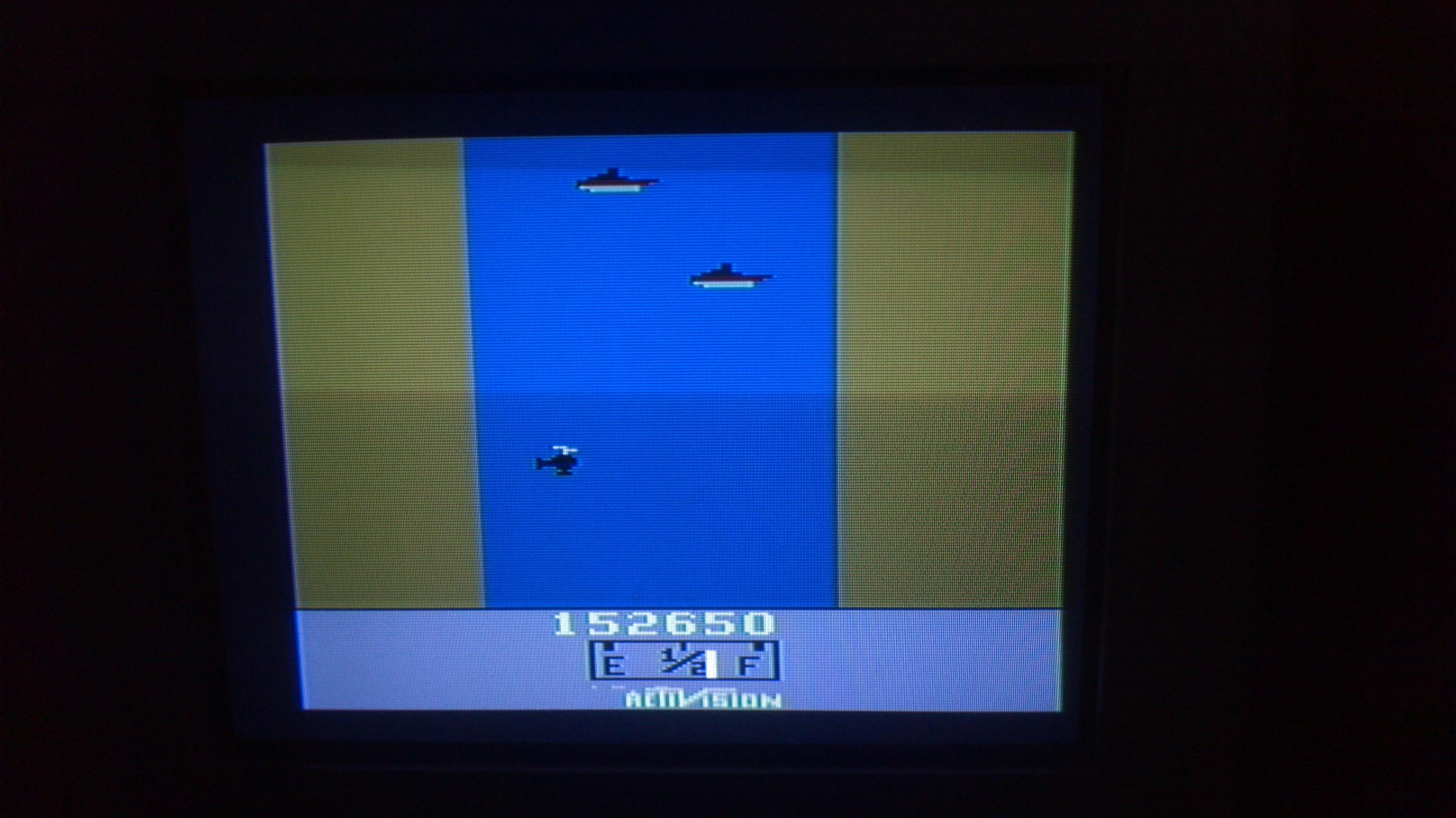 Liduario: River Raid (Atari 2600 Novice/B) 152,650 points on 2014-05-09 08:04:46