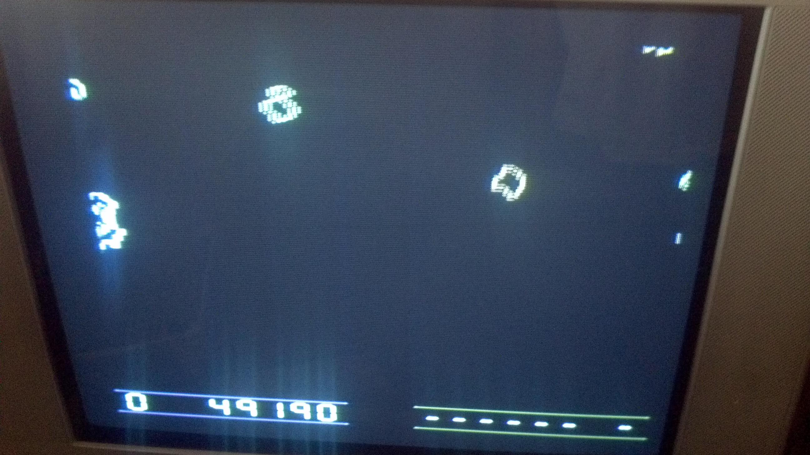 Liduario: Space Rocks (Atari 2600) 49,190 points on 2014-05-10 22:22:59