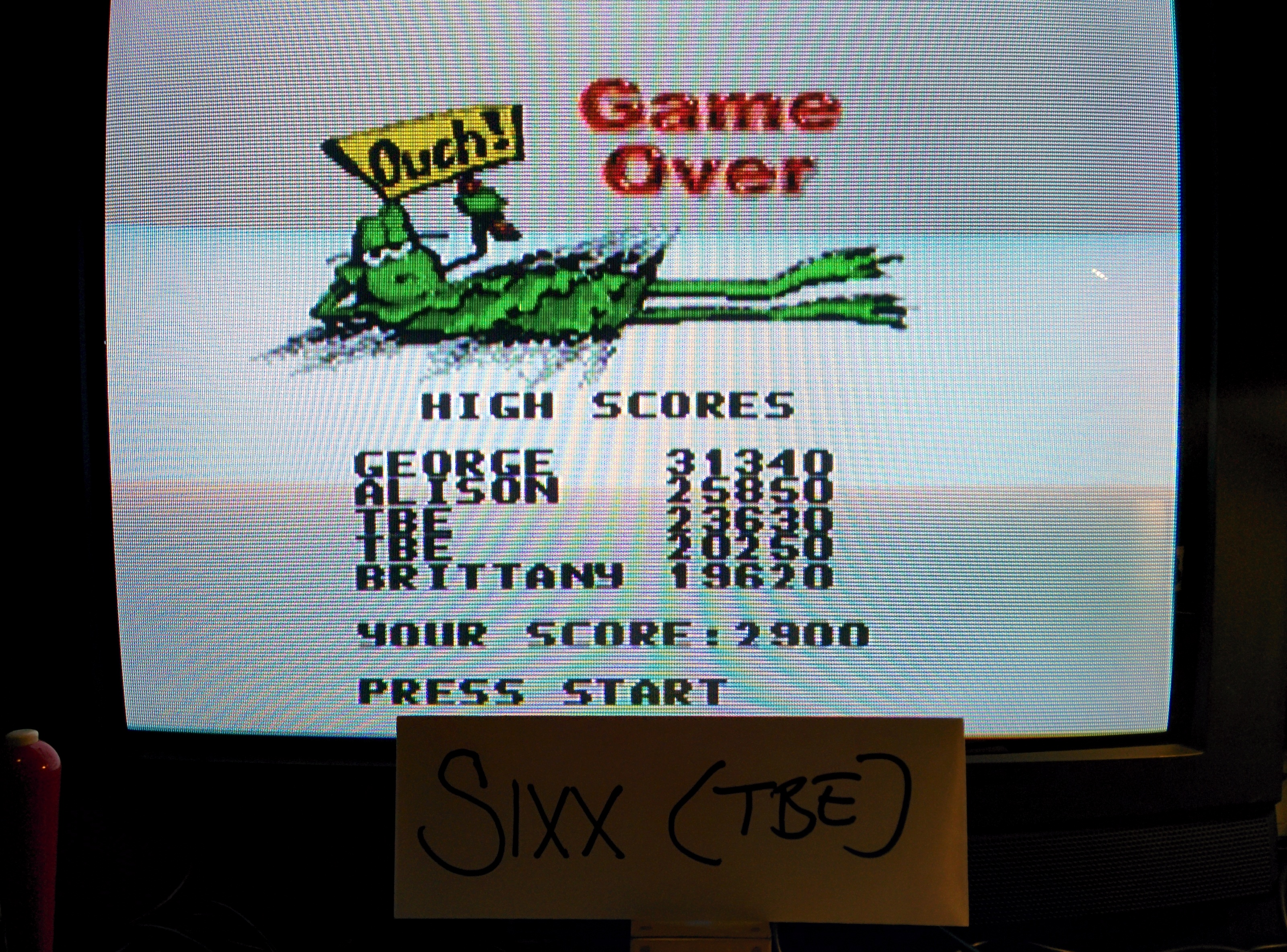 Sixx: Frogger (SNES/Super Famicom Emulated) 23,630 points on 2014-05-11 15:04:42