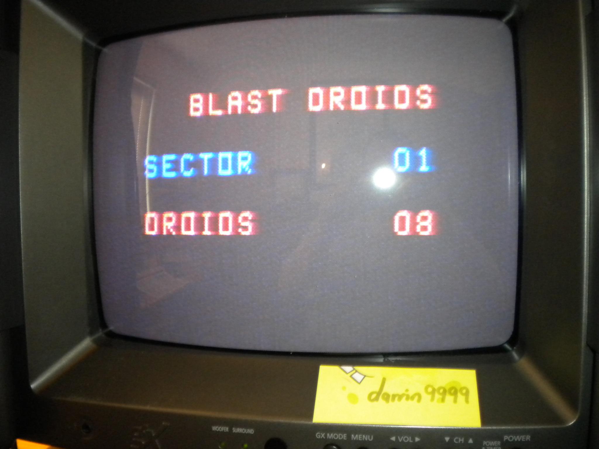 Blast Droids 4,100 points