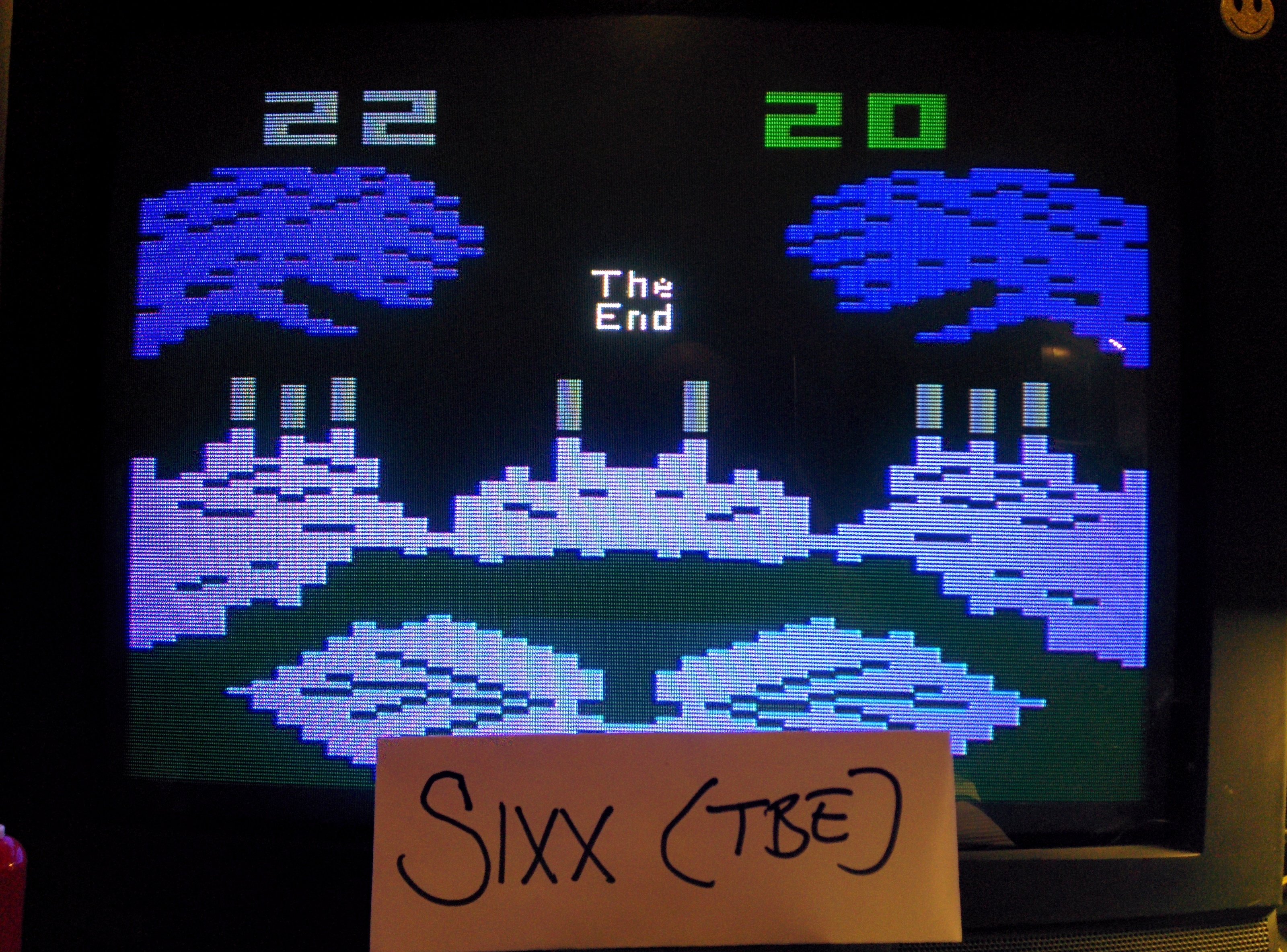 Sixx: Frogs and Flies (Atari 2600 Expert/A) 22 points on 2014-05-12 14:56:58