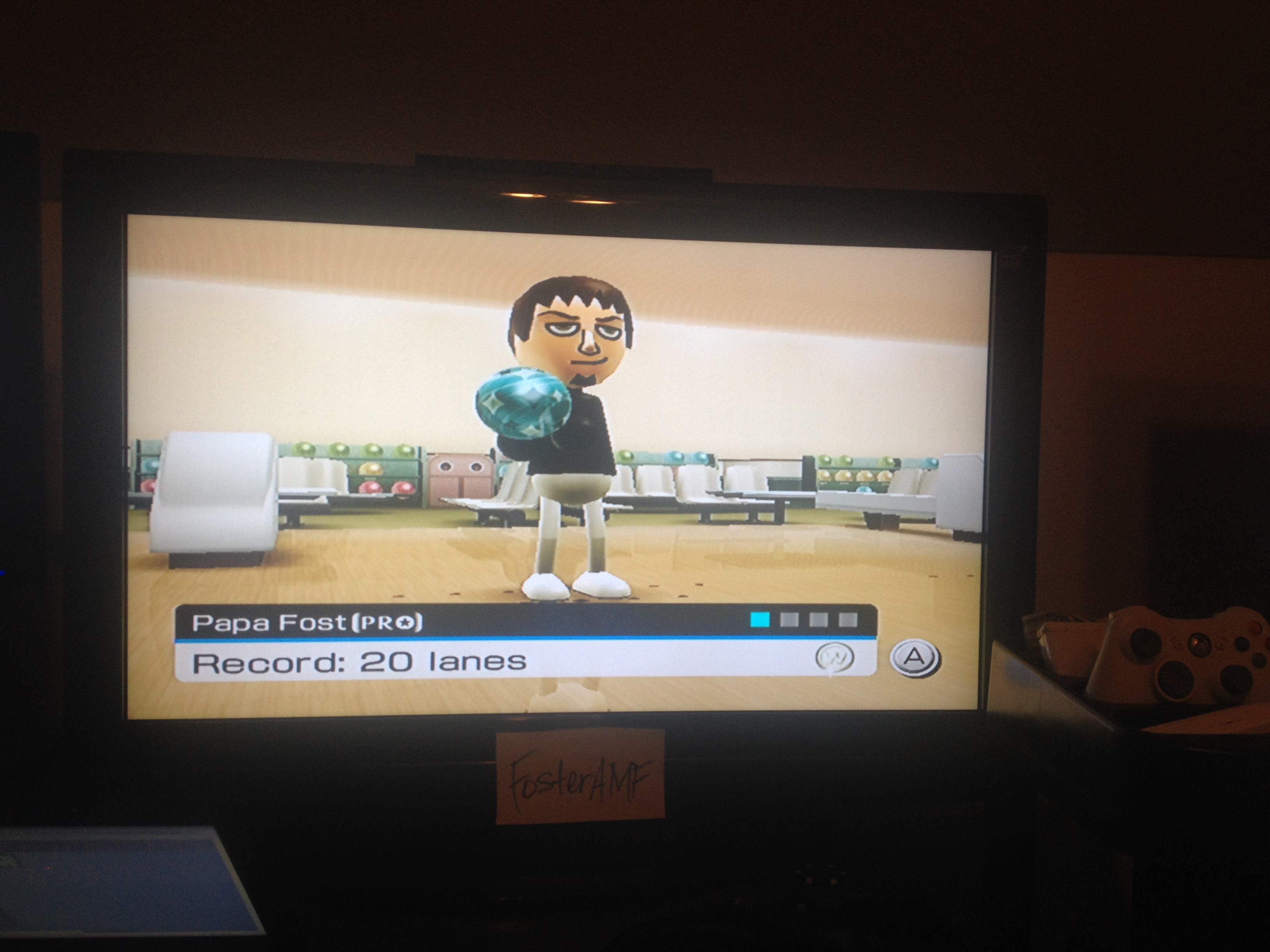 FosterAMF: Wii Sports: Bowling [Picking Up Spares] (Wii) 20 points on 2014-05-13 00:40:05