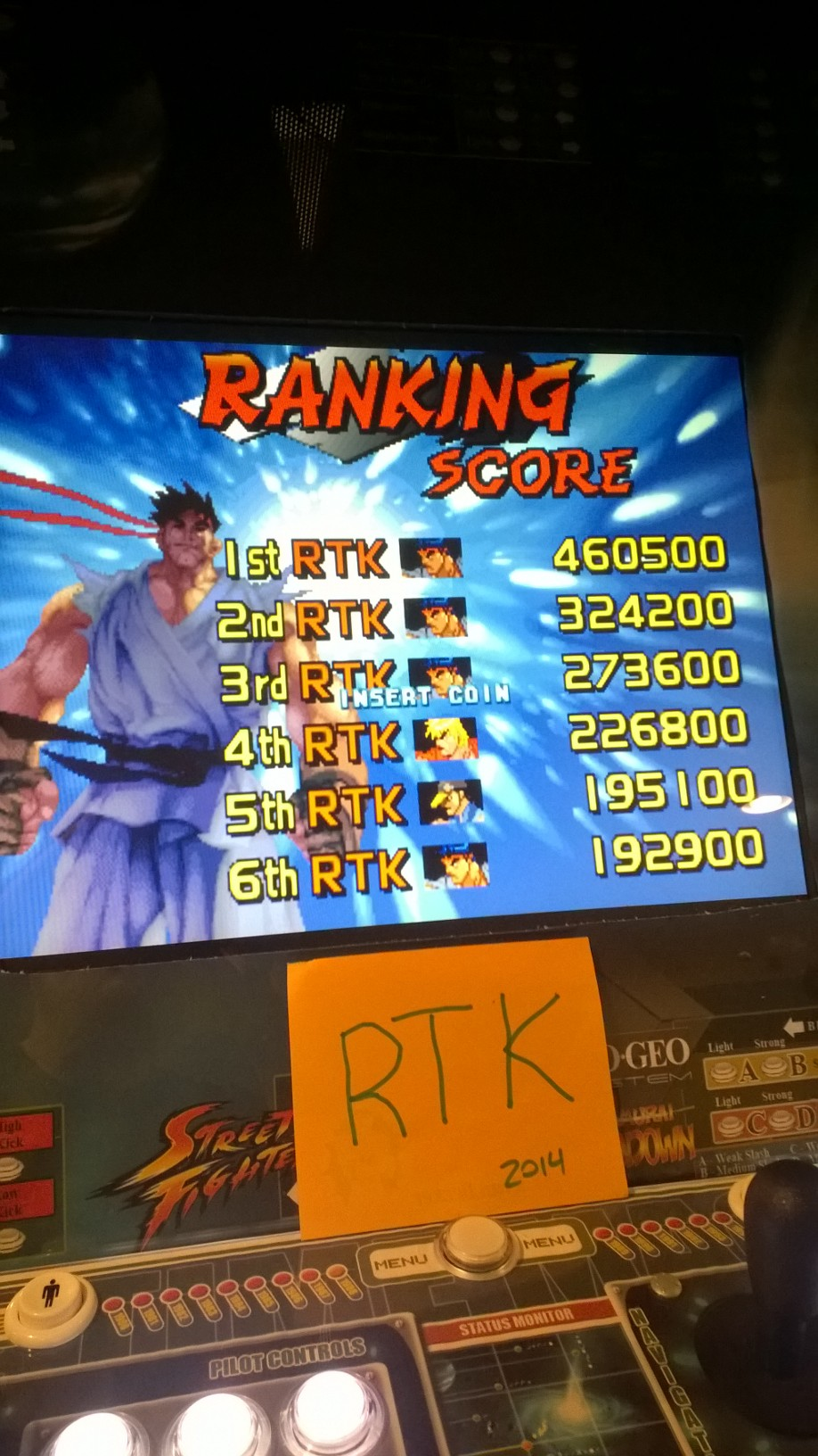 rtkiii: Street Fighter III: 2nd Impact: Giant Attack [sfiii2] (Arcade Emulated / M.A.M.E.) 460,500 points on 2014-05-13 06:44:50