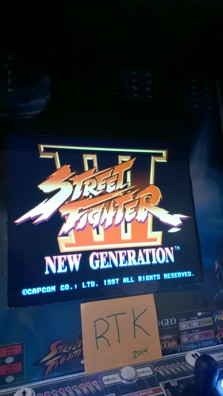 Street Fighter III: New Generation [sfiii] 289,300 points