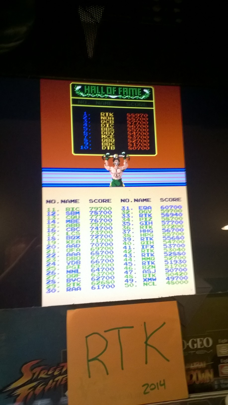 rtkiii: Punch Out [punchout] (Arcade Emulated / M.A.M.E.) 88,970 points on 2014-05-13 06:49:00