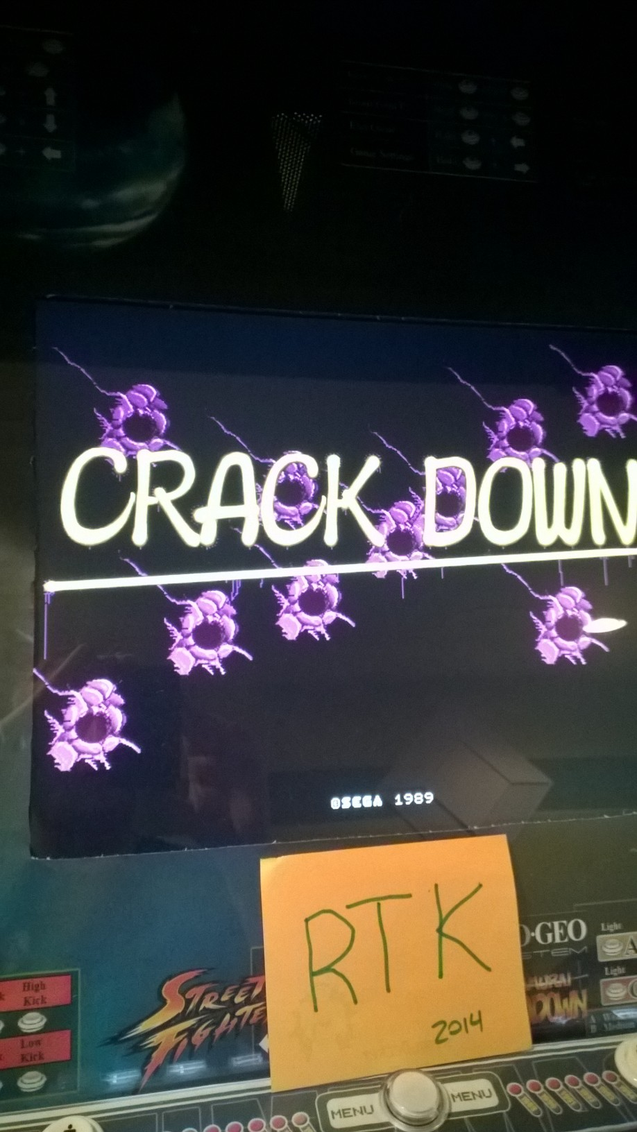 Crack Down [crkdown] 27,400 points