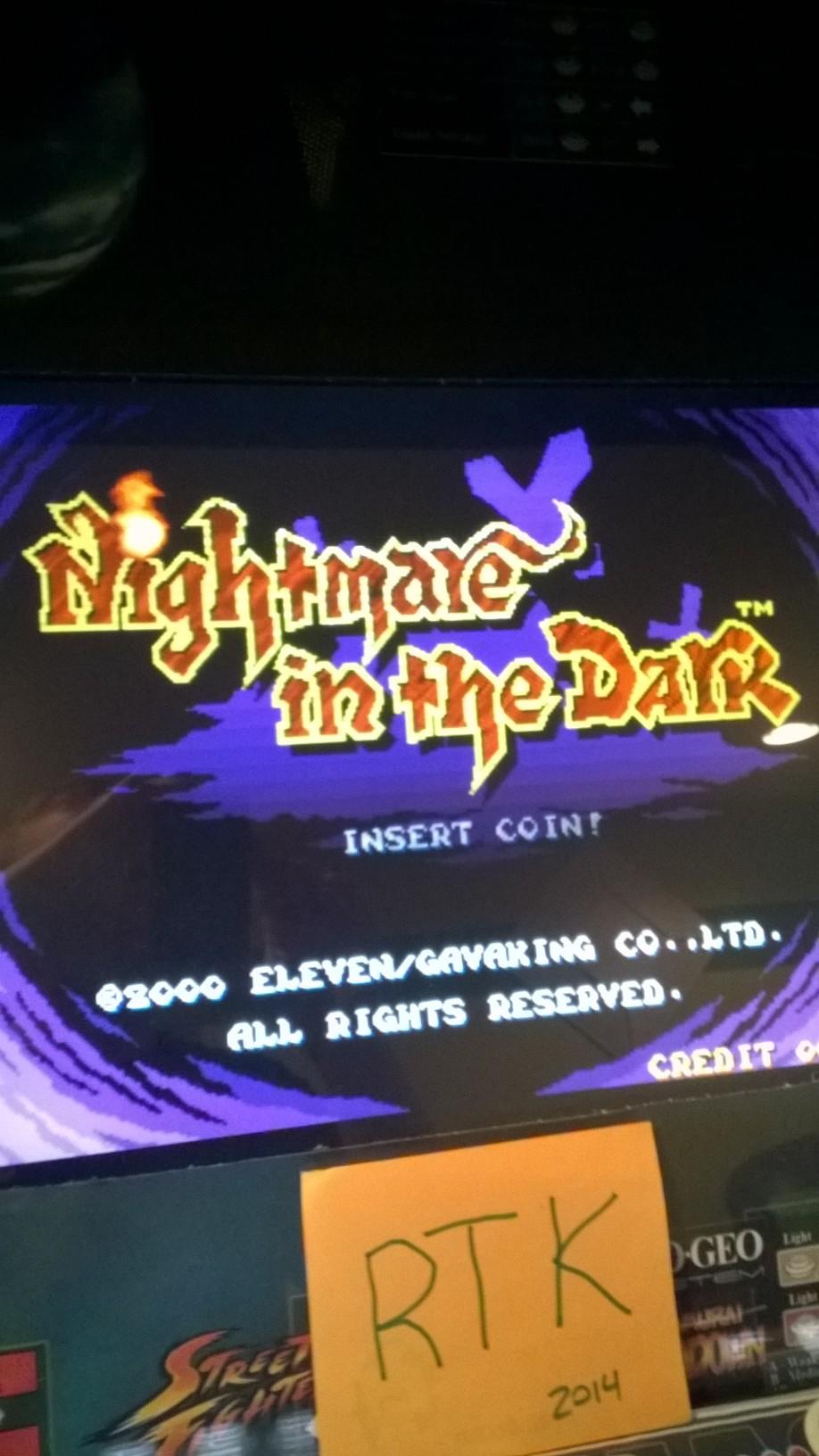 Nightmare in the Dark 363,800 points