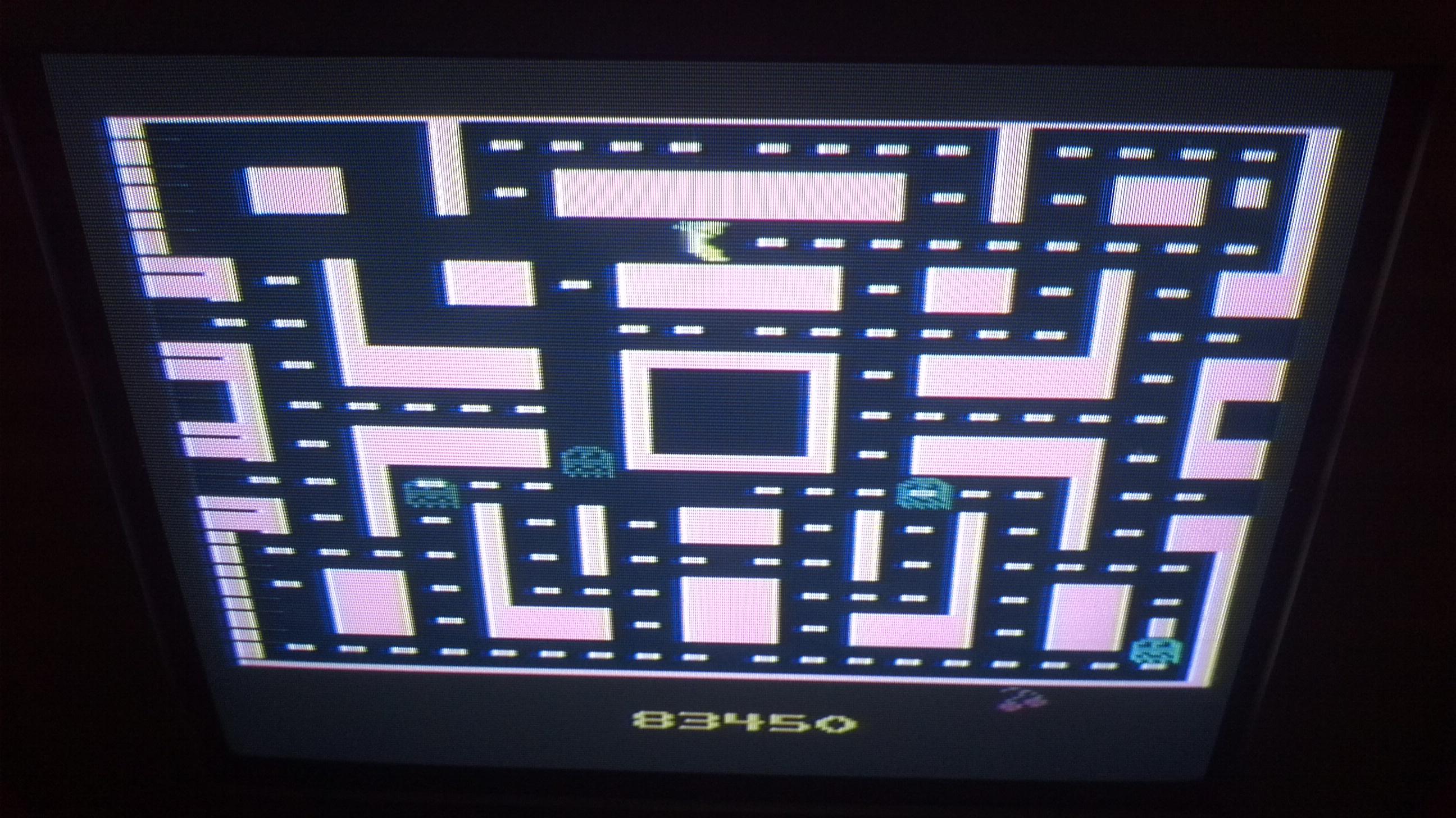 Liduario: Ms. Pac-Man (Atari 2600) 83,450 points on 2014-05-14 21:13:46