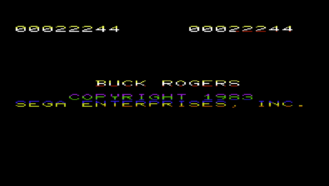 Buck Rogers: Planet of Zoom 22,244 points