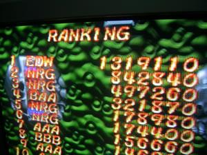 kollision: Two-Tenkaku (Playstation 1) 1,319,110 points on 2014-05-15 18:05:11