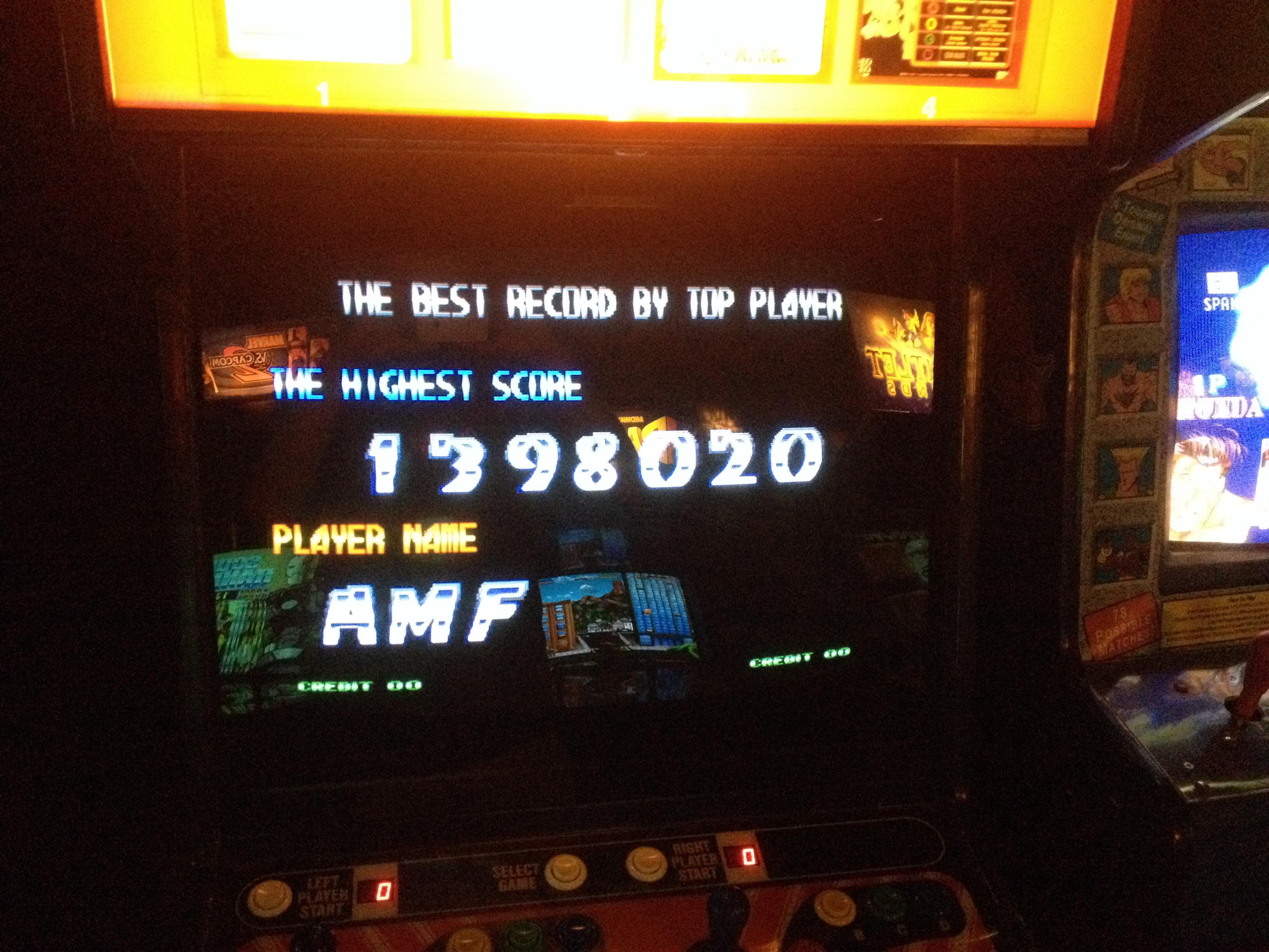 FosterAMF: Blazing Star (Arcade) 1,398,020 points on 2014-05-15 23:28:30