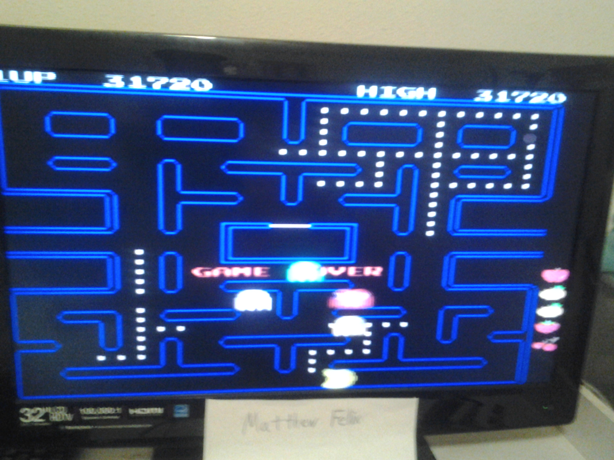 Namco Museum 50th Anniversary: Pac-Man 31,720 points