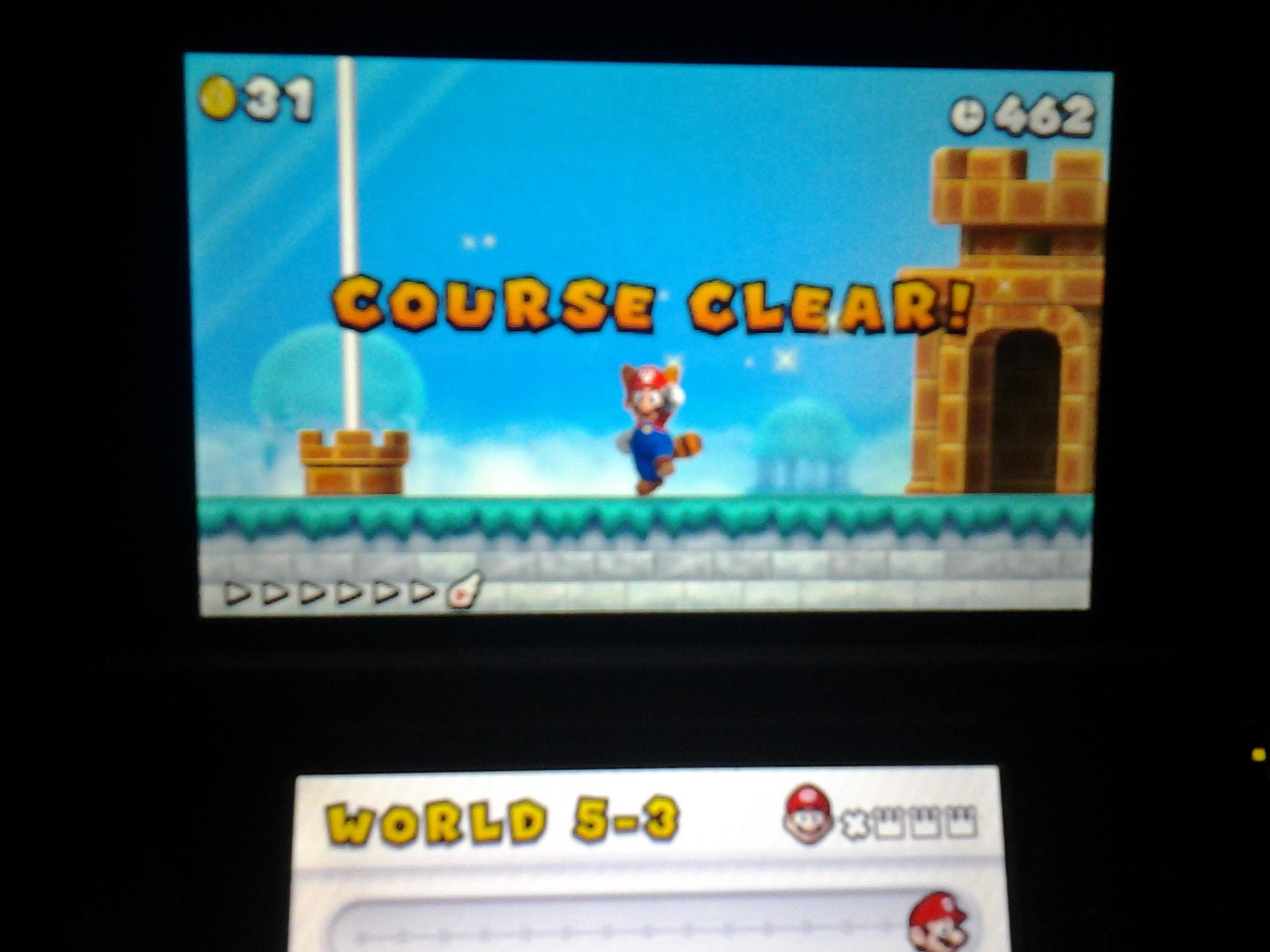 New Super Mario Bros  2: World 5-3 [Remaining Time] (Nintendo 3DS